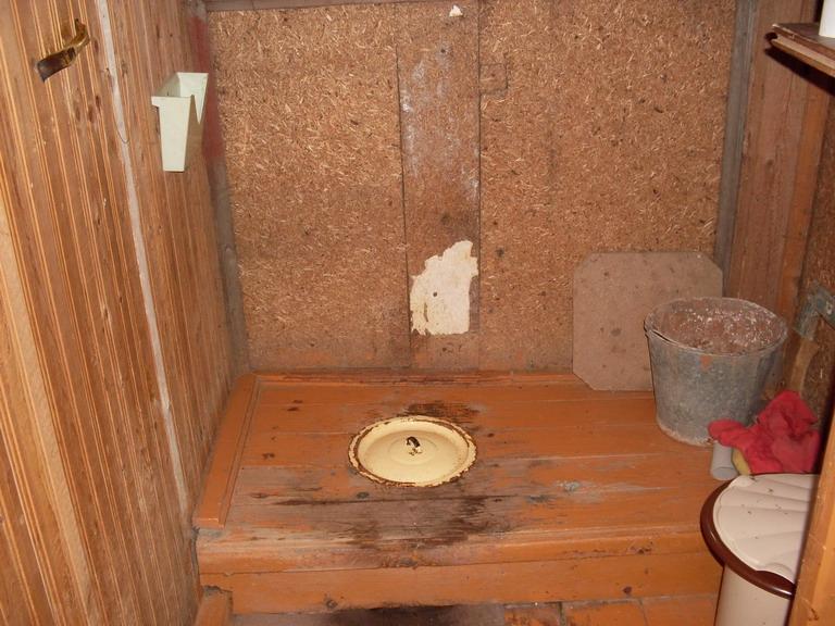 Туалет для сельского дома своими руками