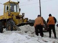 Из-за неубранного снега в Череповце уволили руководителя «Спецавтотранса»