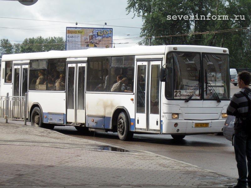 Перевозчики не могут поделить автобусный маршрут в Вологде.