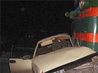 Вологжанин на легковушке врезался в состав грузового поезда