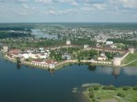 Кирилло-Белозерский монастырь. Вид сверху.