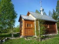 Часовня в Свято-Троицком Павло-Обнорском монастыре