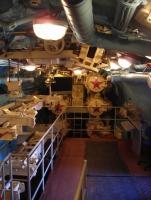 Музей Подводная лодка. Один из отсеков.