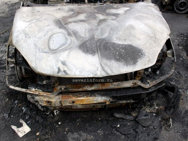 5 12 2014 череповец сгорел ford focus