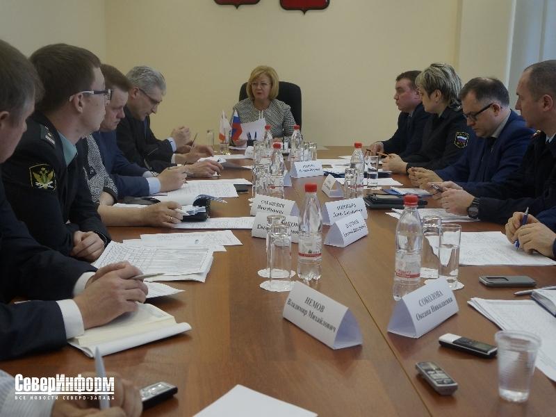 В Вологодской области состоялось заседание рабочей группы по платежам в бюджет