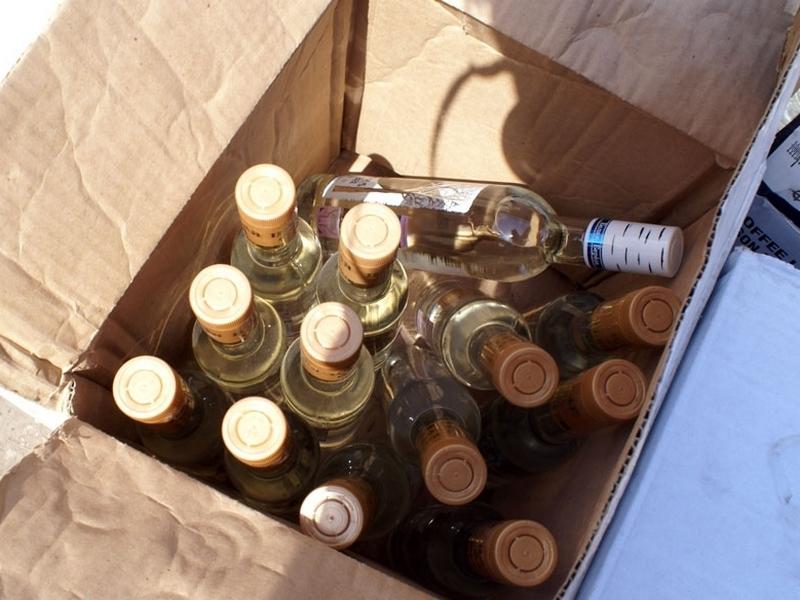 В8 раз возросло количество изъятого контрафактного алкоголя натерритории Вологодчины