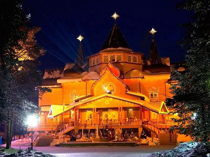 Великий Устюг возглавил малых городов России для отдыха на Новый год