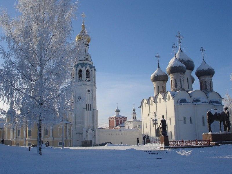 Вологда занимает 10-е место в РФ попопулярности путешествий на23февраля