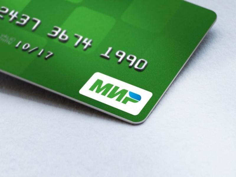 Народные избранники посоветовали обязать небольшие магазины принимать банковские карты «Мир»