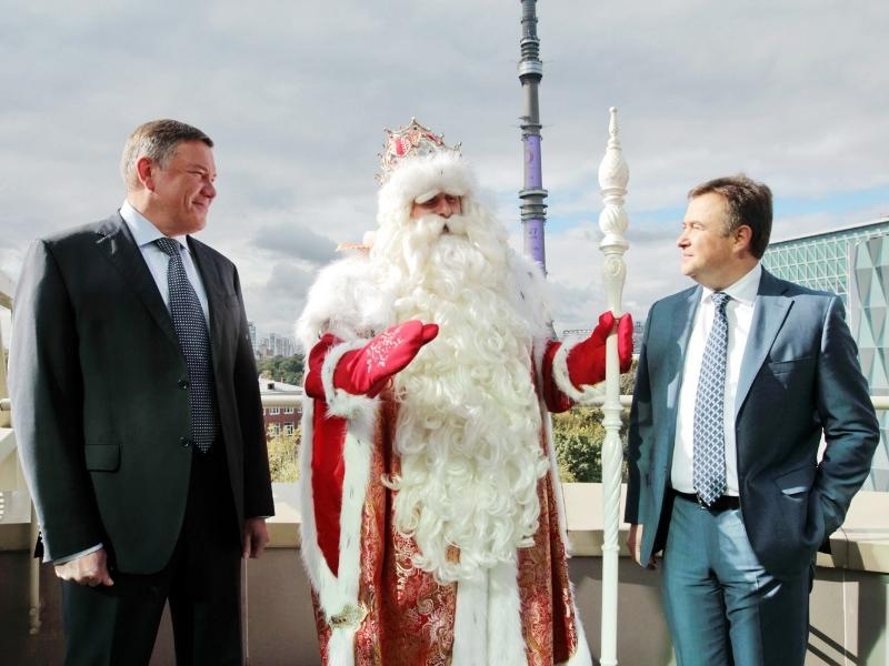 Дедушка Мороз изВеликого Устюга вновь приедет вИркутск