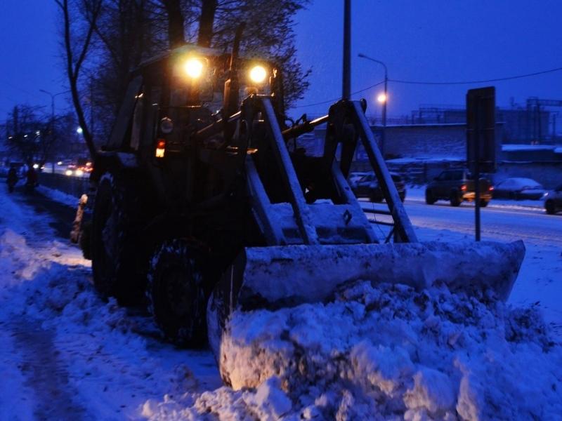 Власти остались недовольны качеством уборки снега вВологде