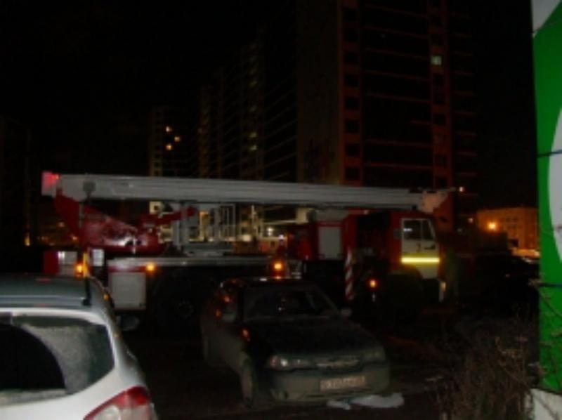 ВВологде ночью вспыхнул пожар в16-этажной высотке