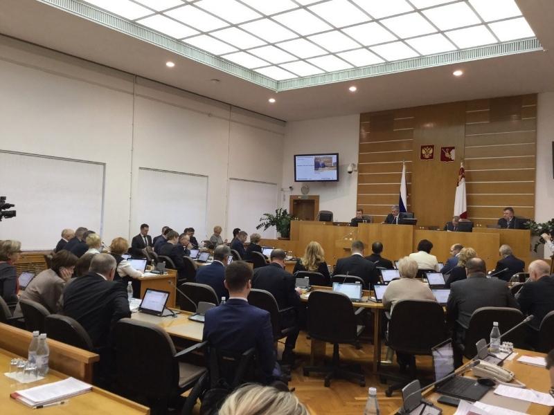 Народные избранники приняли бюджет Вологодской области на следующий год