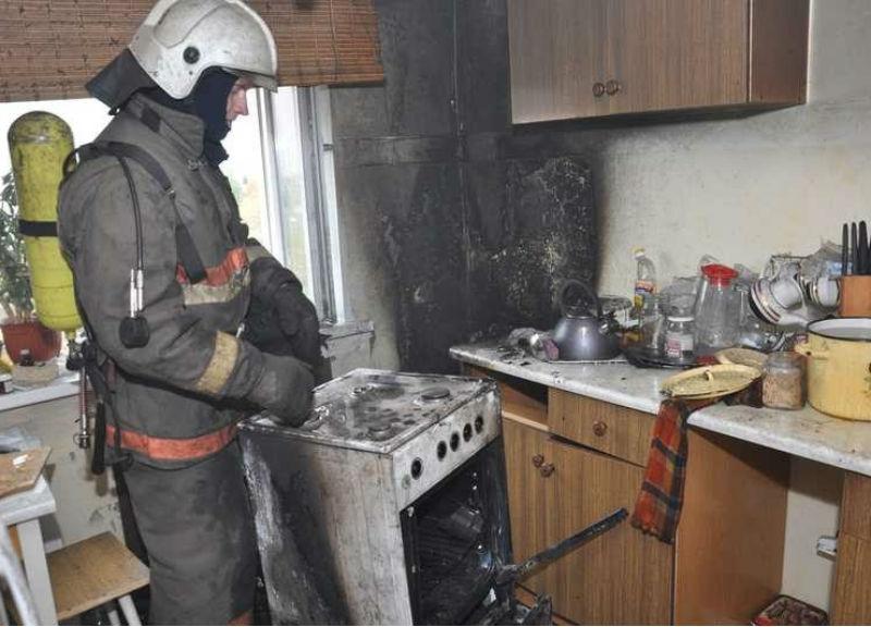 ВЧереповце впожаре вквартире пострадала 82-летняя пенсионерка