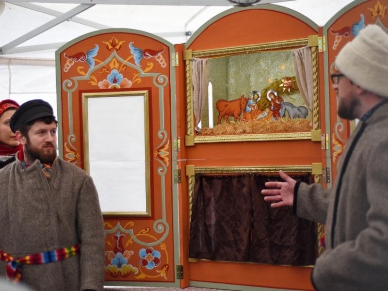 ВВологде стартовал фестиваль вертепных театров
