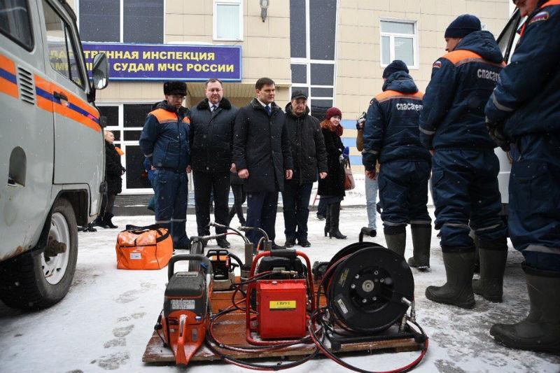 Мэр Вологды проверил уровень готовности городских служб квесеннему паводку