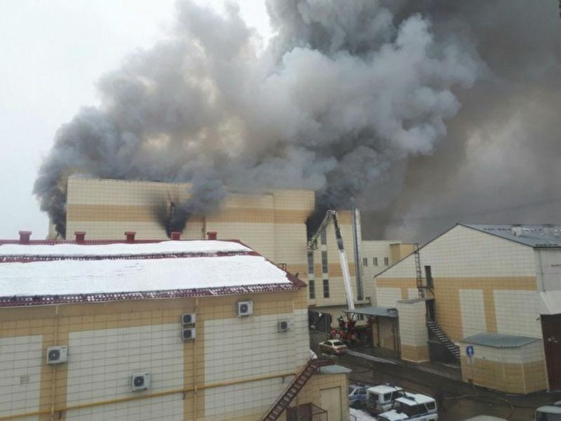 Снос «Зимней вишни» в Кемерове приостановлен: здания признаны вещдоком