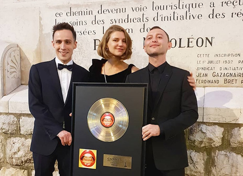 Рома Зверь получил награду Каннского фестиваля