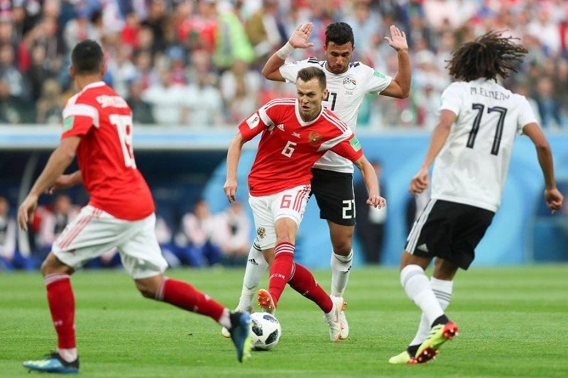 Сборная Российской Федерации обыграла Египет и преждевременно вышла вплей-оффЧМ 2018