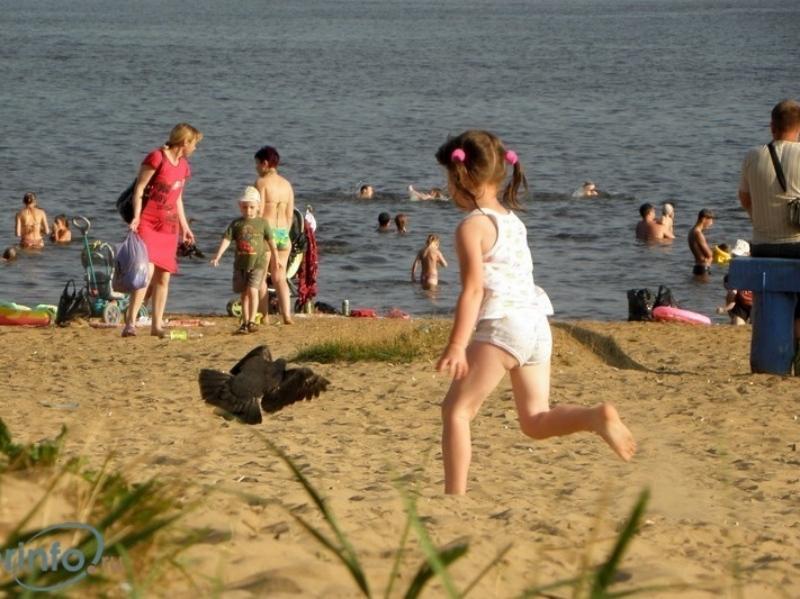 Двухлетний ребенок потерялся на береге вЧереповце