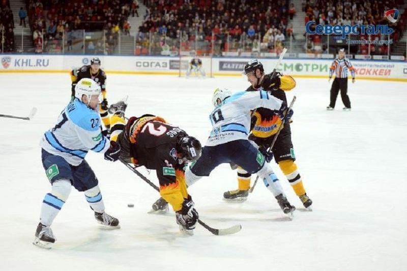 Череповецкая «Северсталь» начала новый сезон КХЛ спобеды над «Сибирью»