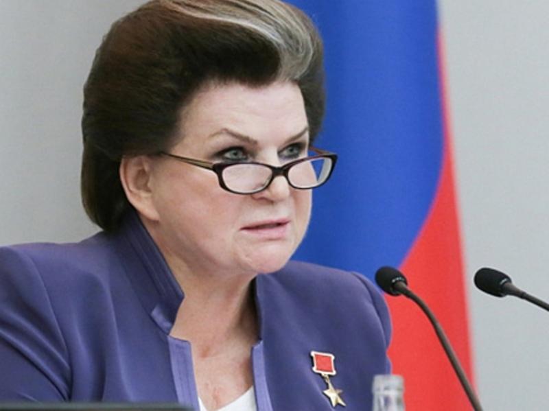Терешкова предложила снять ограничения на число президентских сроков