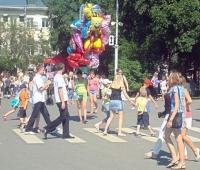 До 21 часа частично перекрыто движение в центре Вологды