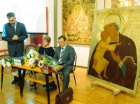 Уникальную икону 16 века представили в музее Вологды