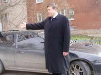 Мэр Череповца Олег Кувшинников на своей машине попал в ДТП