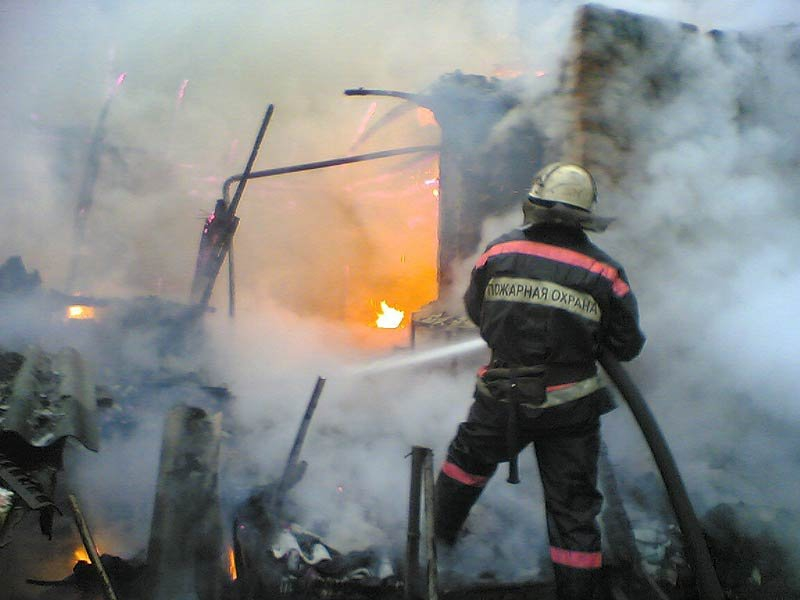 В минувшие выходные в пожаре погиб мужчина.