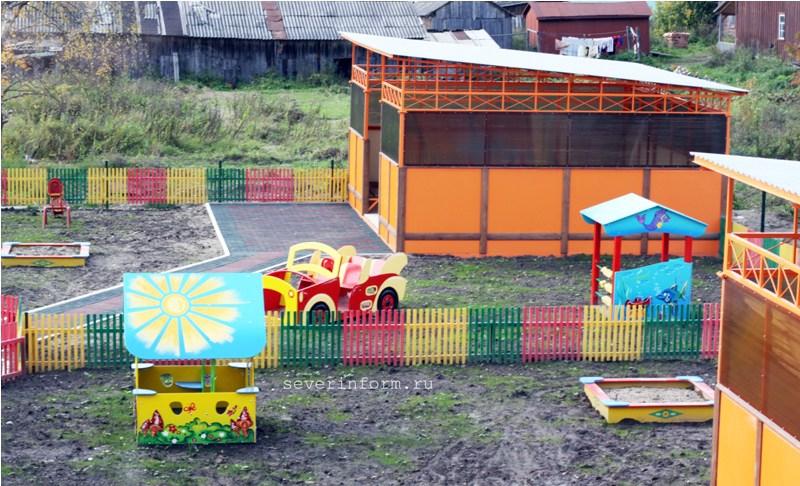 площадка в детских садах картинки